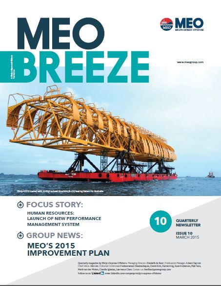 MEO Breeze Issue 11 : Diederik de Boer reflects on his career