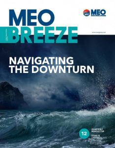 MEO Breeze - Issue 12 : Navigating the downturn and other stories. Breeze is a quarterly magazine by Miclyn Express Offshore
